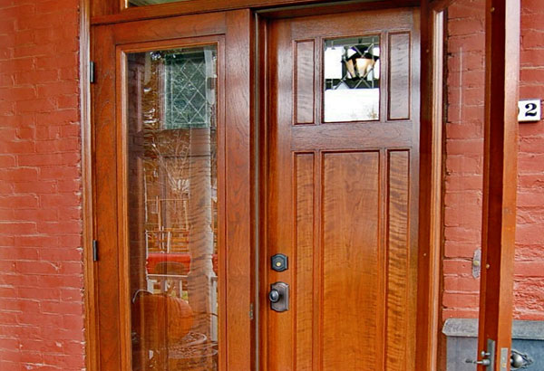 French Style Storm Door