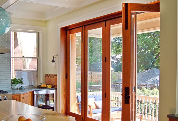Kitchen Folding Door